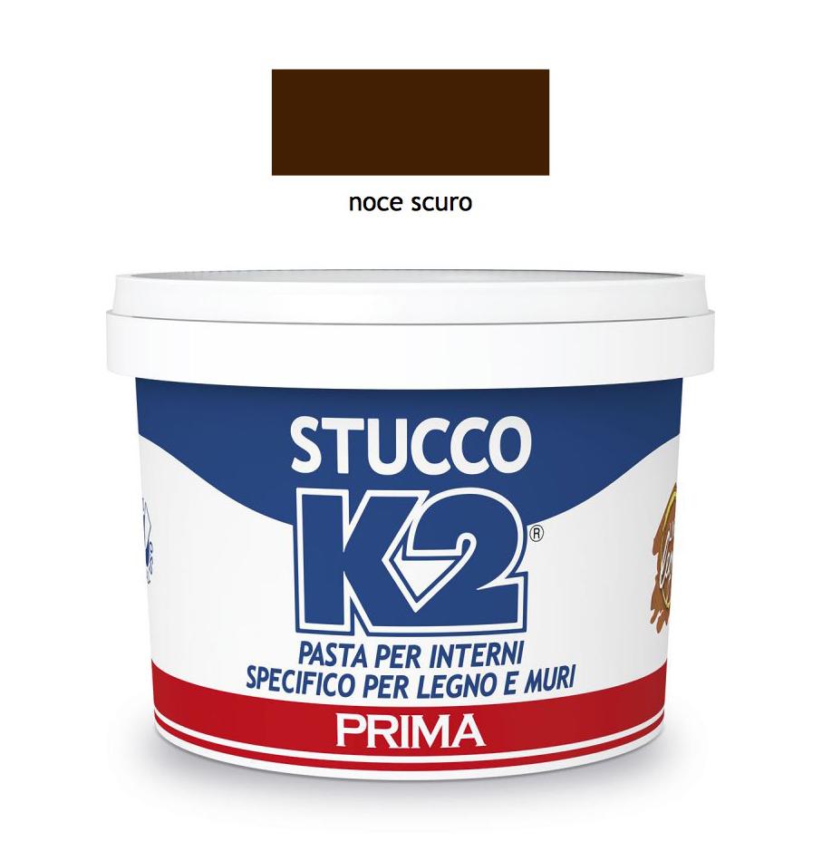 Stucco Per Piano Cottura k2 - stucco noce scuro in pasta 0,5 kg legno