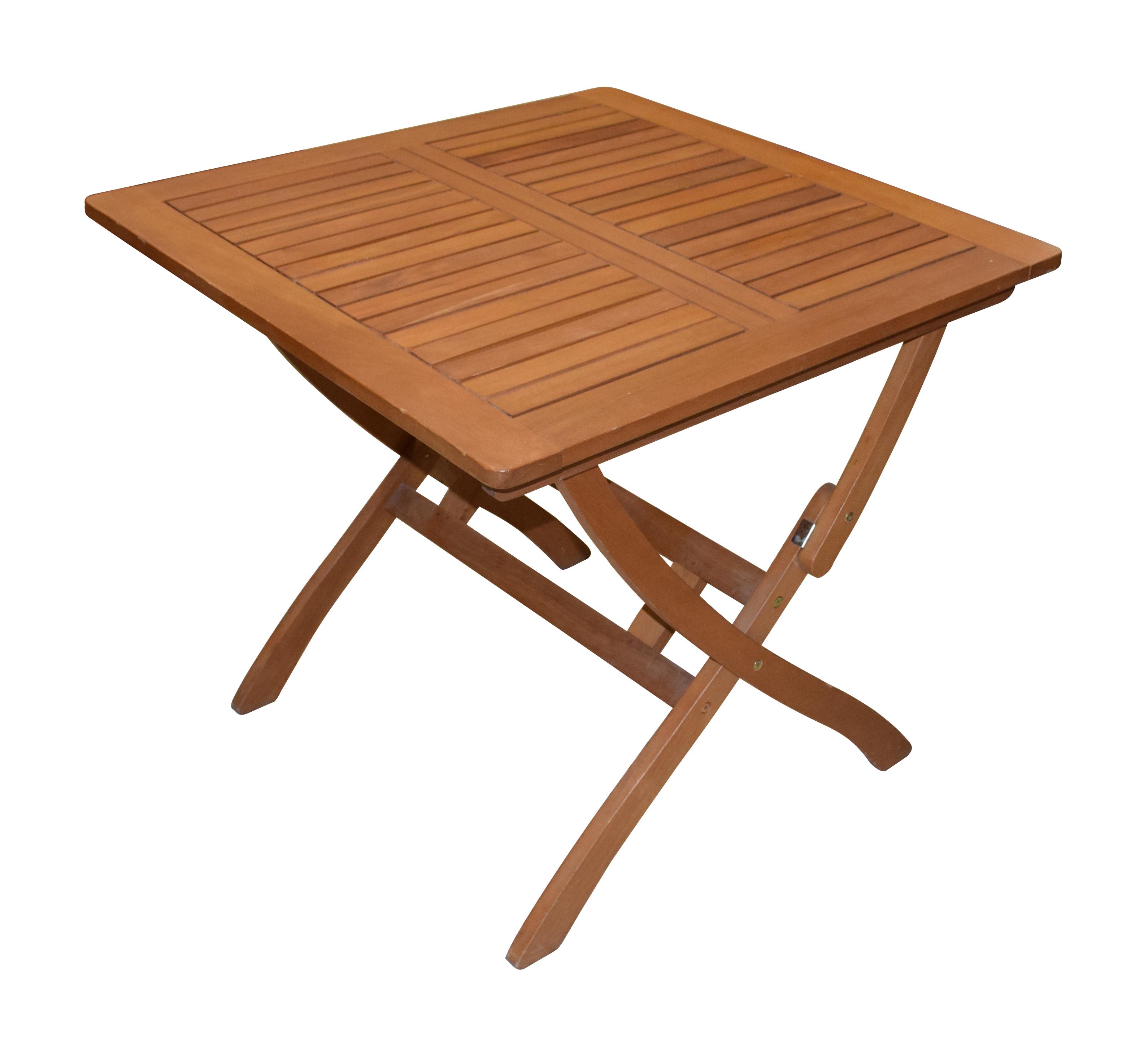 Tavolo nelson quadrato in legno 80x80x72 cm bricocasa - Tavolo quadrato legno ...