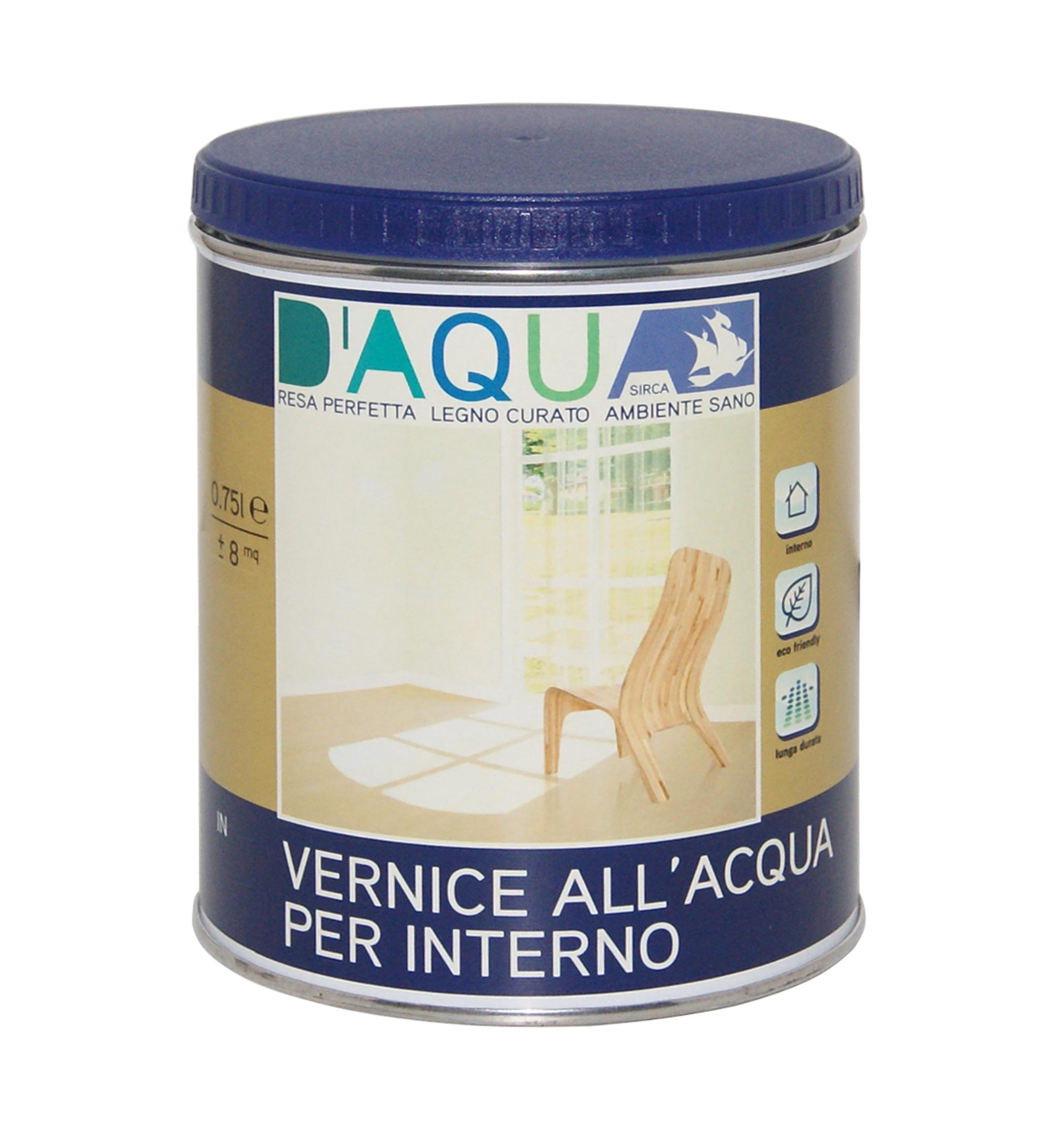 Vernice ad acqua interni effetto naturale 0 75 l bricocasa for Ad interni