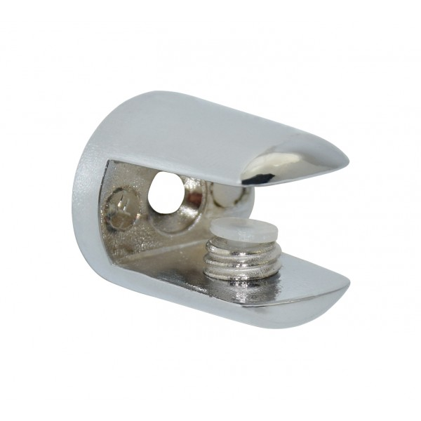 Reggimensola Per Mensole Vetro.Reggimensola Per Vetro D 10 6mm Metallo Cromo