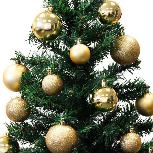 Immagini Palline Natalizie.Palline Per Albero Di Natale E Decorazioni Natalizie Kaemingk Color Oro 30 Pezzi Bricocasa