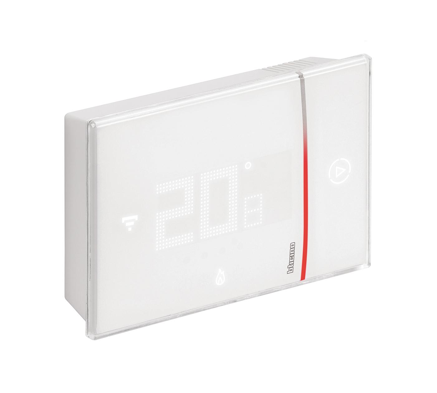 Termostato Wifi Superficiale Da Parete X8000w Bticino Bianco