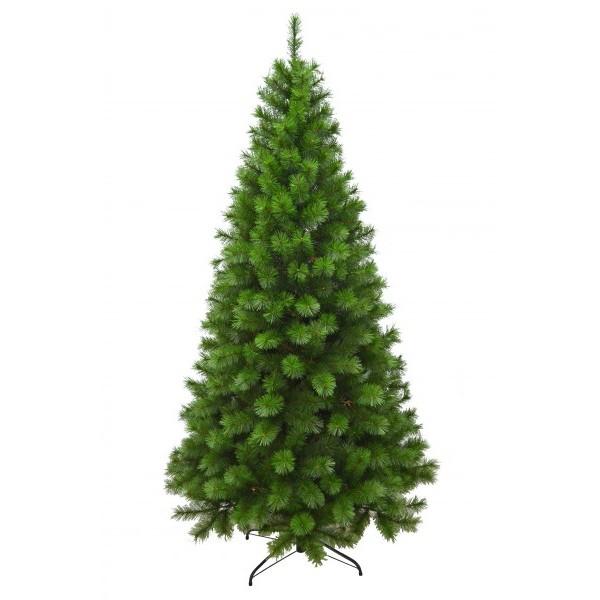 Albero Di Natale H 240.Albero Di Natale Tolga H 240 Cm 1339 Rami Colore Verde