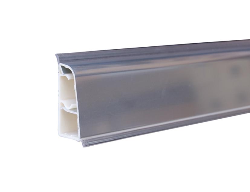 Alzatina in alluminio rivestito top cucina 4 mt alluminio ...